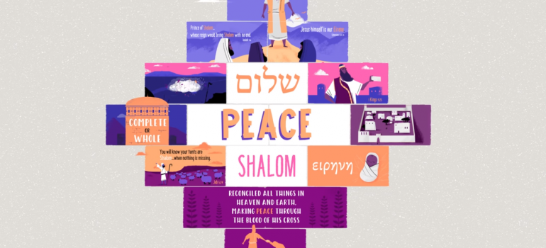 Word Study: Shalom | The Drawing Board